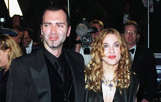 Madonna z bratem Chrisem /Getty Images