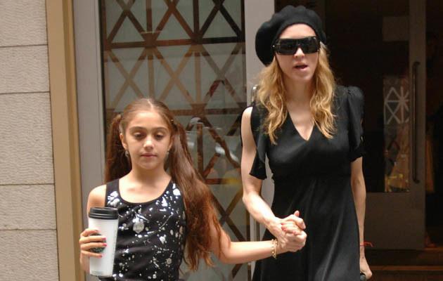 Madonna z córką Lourdes  /Splashnews