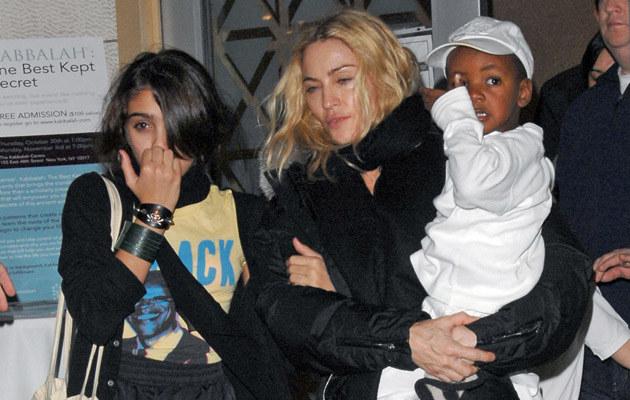 Madonna z dziećmi  /Splashnews