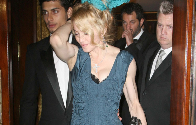 Madonna z kochankiem Jesusem  /Splashnews