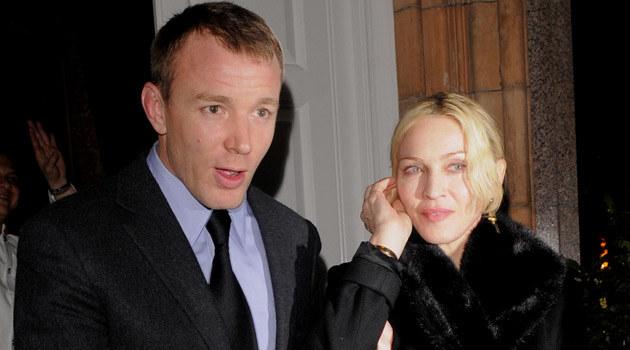 Madonna z mężem  /Splashnews