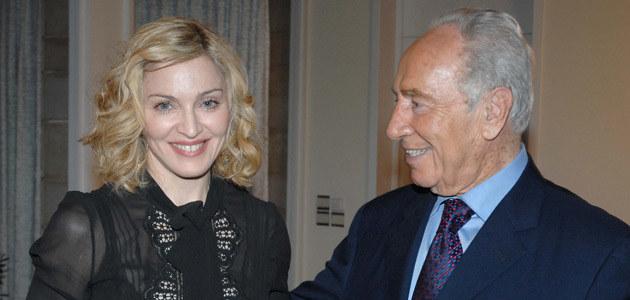 Madonna z Szymonem Perezem  /AFP