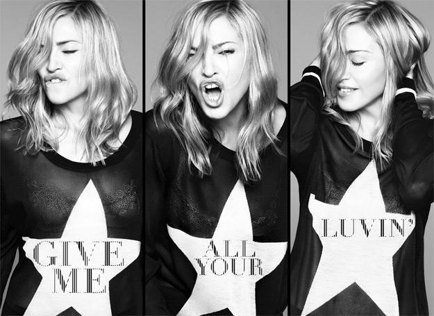 """Madonna zaprezentowała singla """"Give Me All Your Luvin'"""" /Universal Music Polska"""