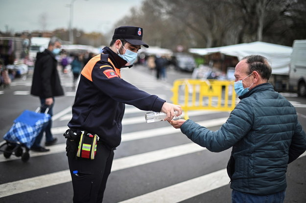 Madryt /FERNANDO VILLAR /PAP/EPA