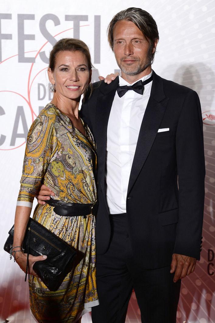 Mads Mikkelsen z żoną Hanne /Getty Images/Flash Press Media