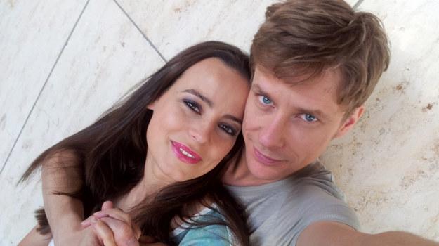 Madzia (Anna Mucha) i Michał (Dariusz Wnuk) /  /Agencja W. Impact