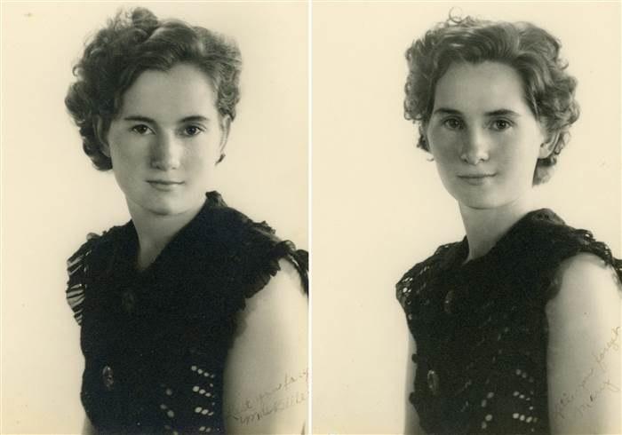 Mae Belle (po lewej) i Mary w latach młodości /today.com /INTERIA.PL