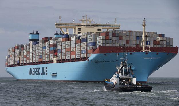 Maersk to największy na świecie operator żeglugi kontenerowej /AFP