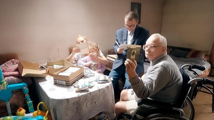 Mafia mieszkaniowa chce odebrać rodzinie dorobek ich życia (źródło: Polsat News) /