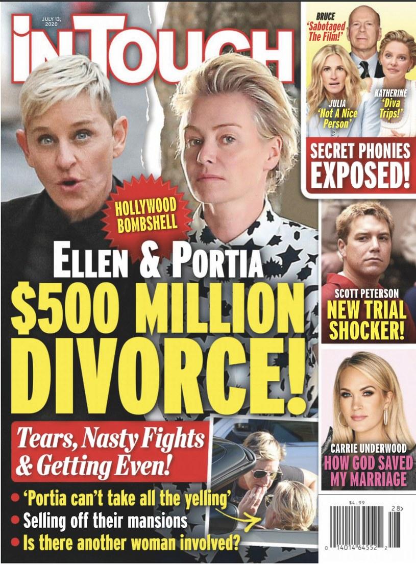 """Magazyn """"In Touch"""" donosi, że para rozwodzi się /materiał zewnętrzny"""