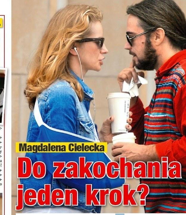 Magda Cielecka i David /- /Na żywo