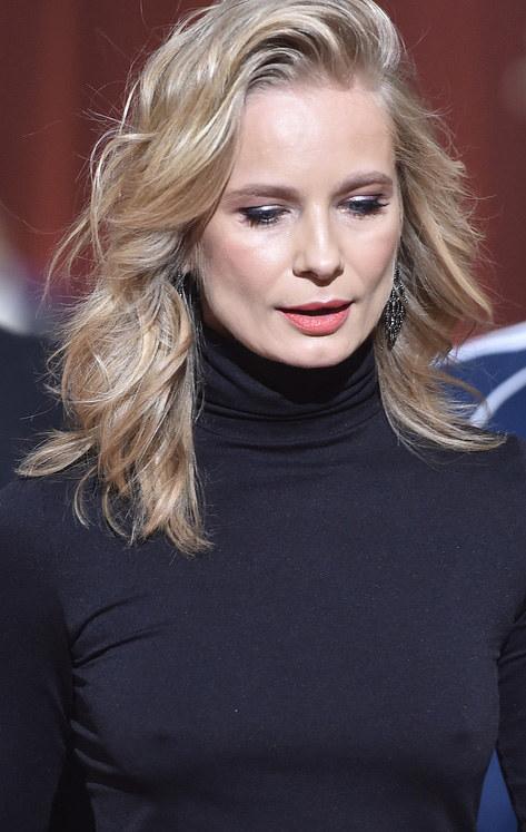 Magda Cielecka na ramówce TVN-u /Kurnikowski /AKPA