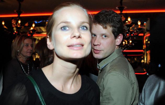 Magda Cielecka z Łukaszem Garlickim, fot. Andrzej Szilagyi  /MWMedia