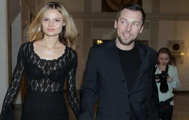 Magda Frąckowiak i Wojciech Pastor /Wrzecion /MWMedia
