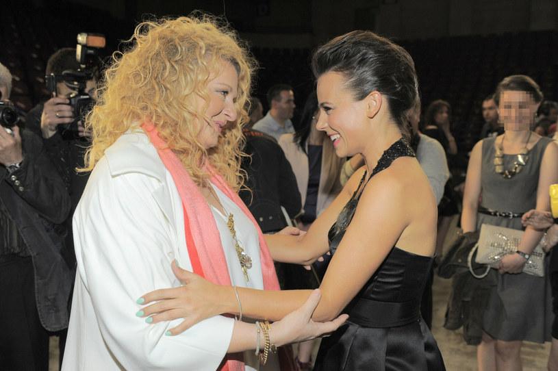 Magda Gessler i Anna Mucha /Tricolors /East News