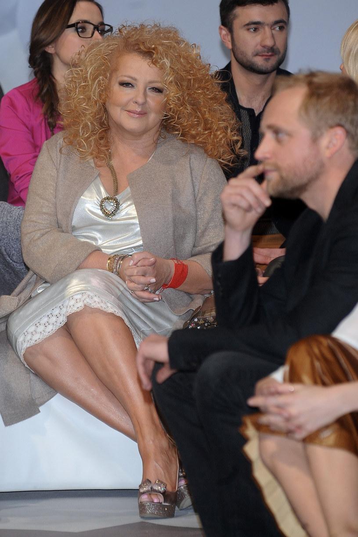 Magda Gessler i Piotr Adamczyk na ramówce TVN /VIPHOTO /East News