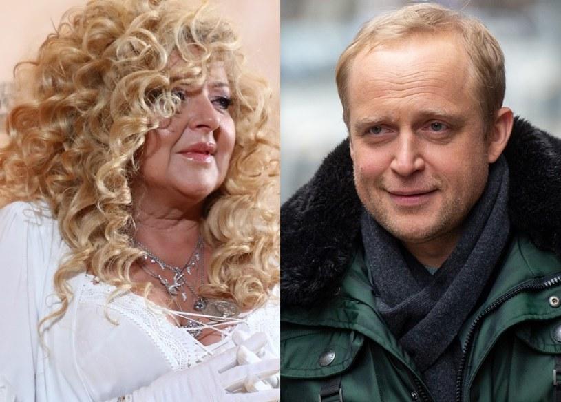 Magda Gessler i Piotr Adamczyk /VIPHOTO /East News