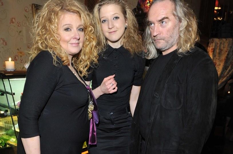 Magda Gessler i Piotr Gessler nawet po rozstaniu utrzymywali ze sobą przyjacielskie kontakty. Ich radością była córka - Lara Gessler /Niemiec /AKPA
