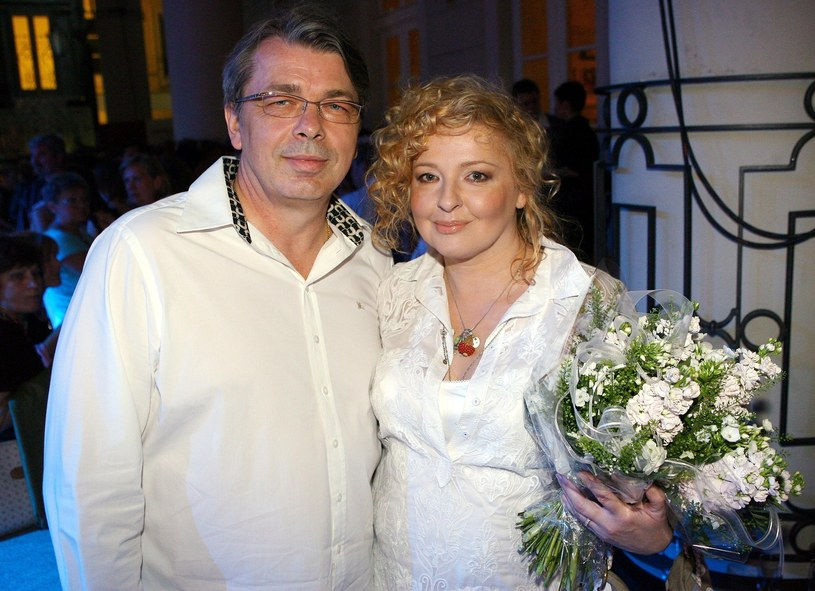 Magda Gessler i Waldemar Kozerawski w 2007 roku /Piotr Fotek/REPORTER /East News