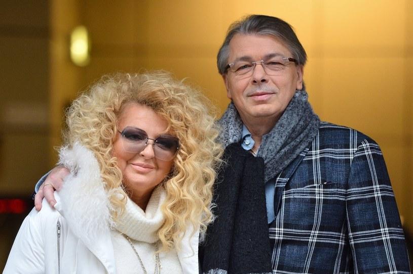 Magda Gessler i Waldemar Kozerawski /VIPHOTO /East News