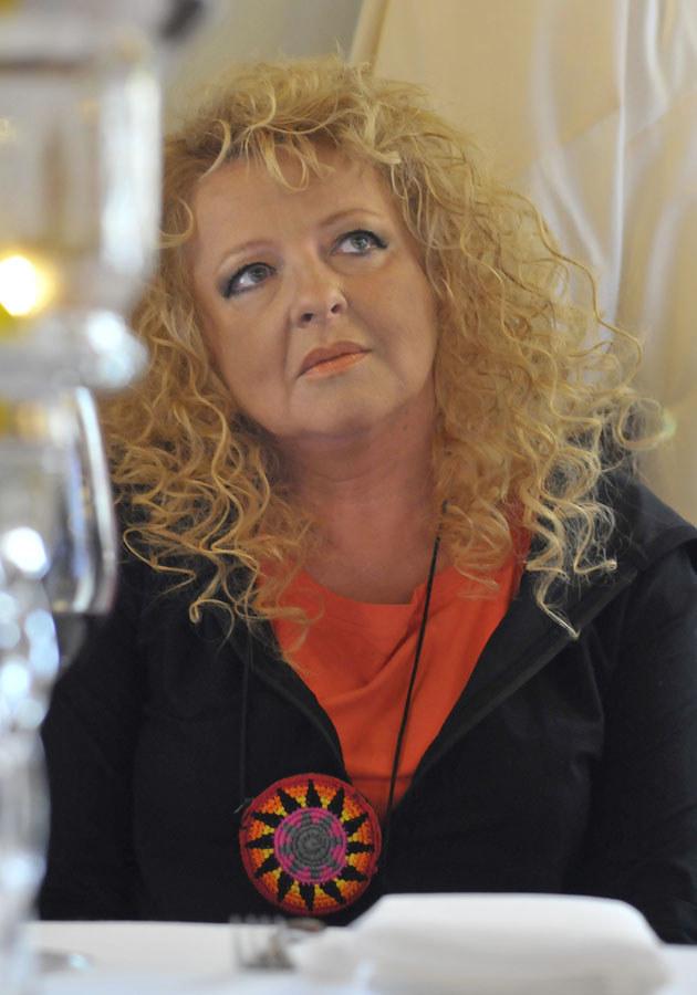 Magda Gessler na otwarciu krakowskiej restauracji /Wojciech Matusik /Agencja FORUM