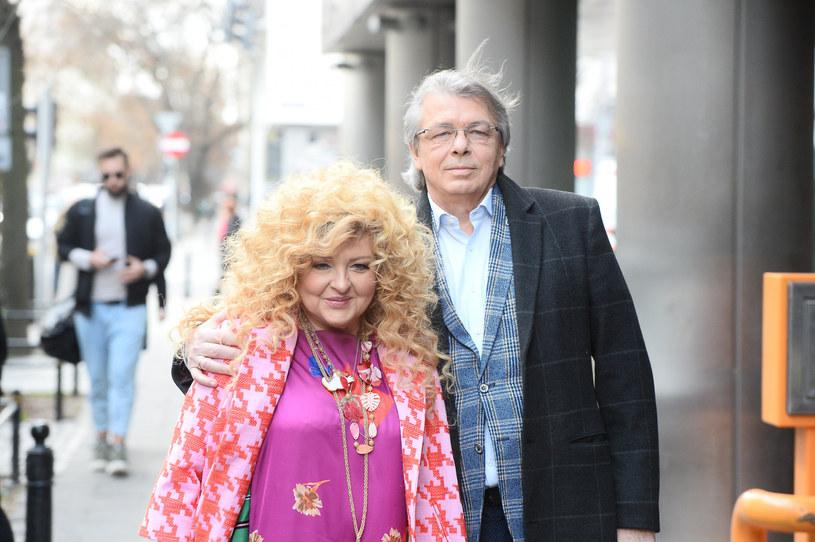 Magda Gessler nie tylko bardzo tęskni za mężem, ale też martwi się o jego zdrowie /VIPHOTO /East News