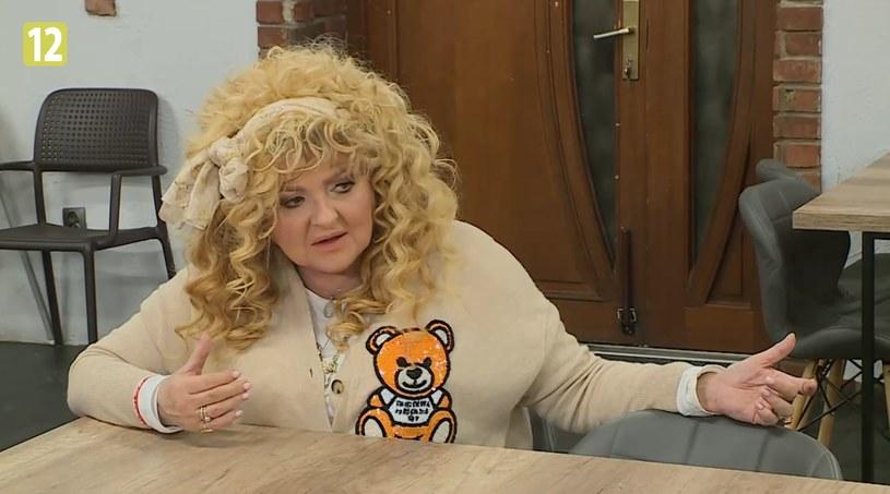 """Magda Gessler podczas """"Kuchennych rewolucji"""" w restauracji w Piekarach Śląskich /player.pl /TVN"""