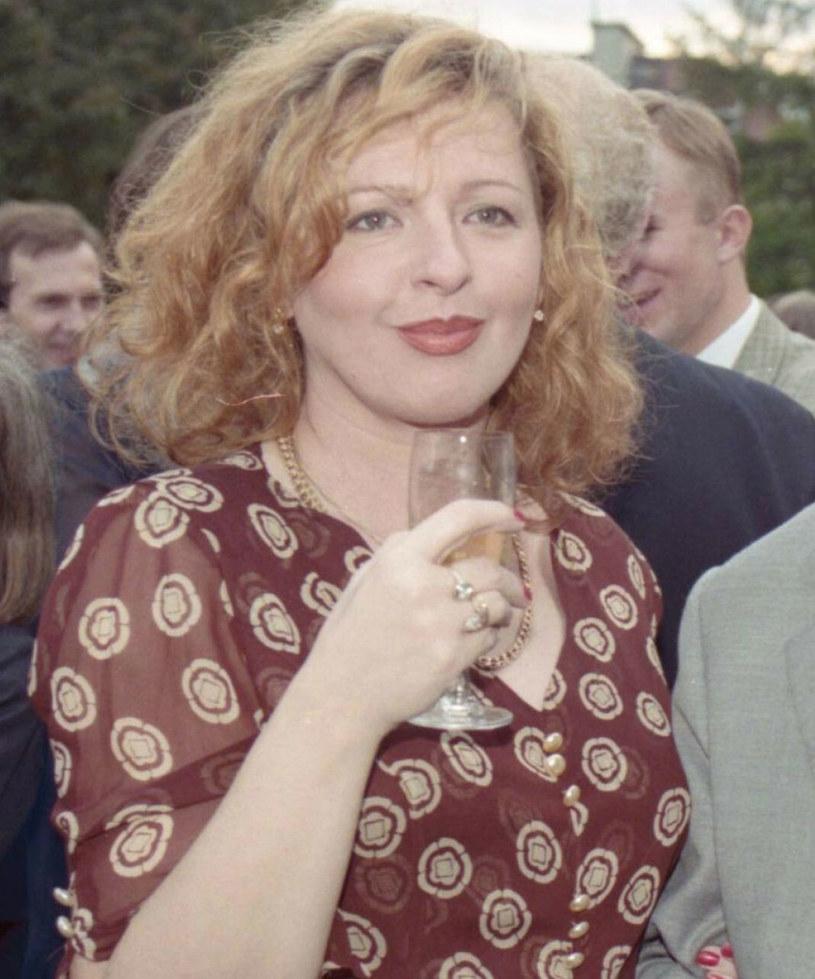 Magda Gessler w 1996 roku /Zenon Zyburtowicz /East News