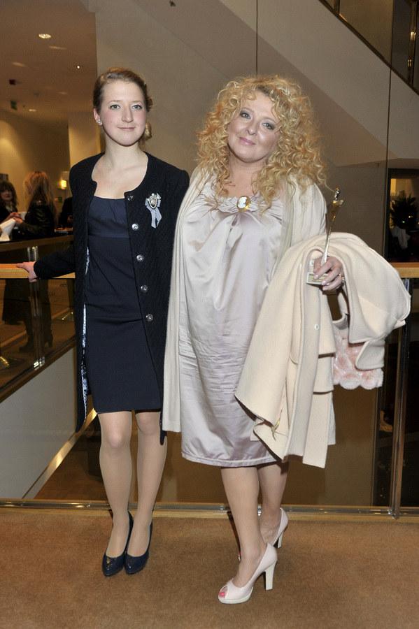 Magda Gessler z córką Larą /-