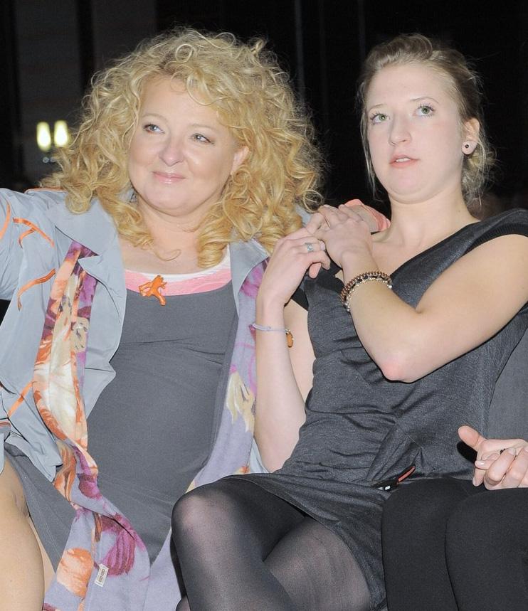 Magda Gessler z córką Larą /- /East News