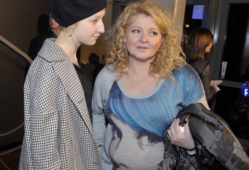 Magda Gessler z córką Larą /Kurnikowski /AKPA