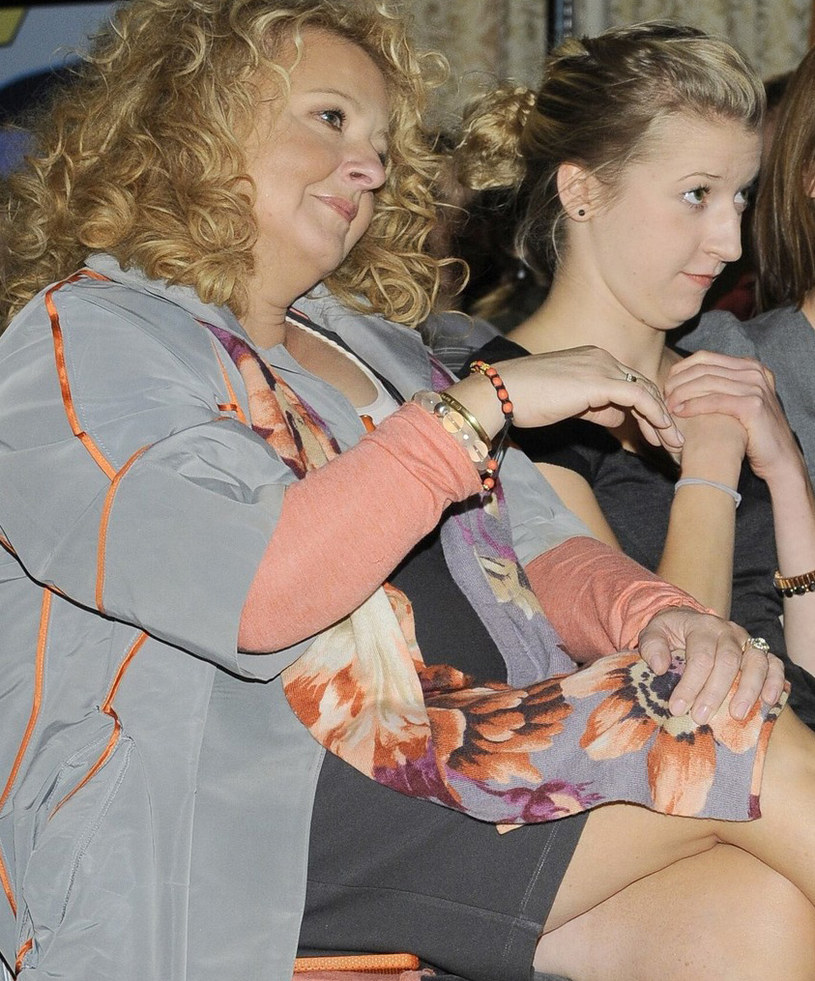 Magda Gessler z córką /Tricolors /East News