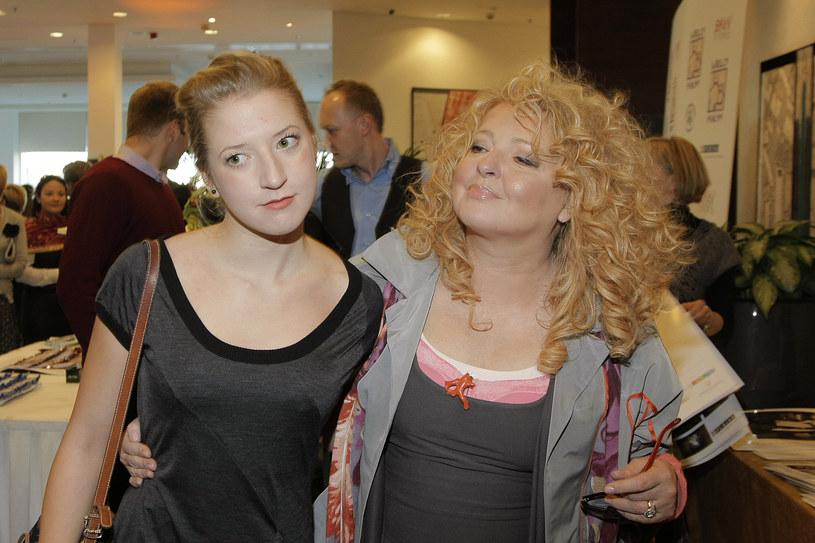 Magda Gessler z córką /Jarosław Wojtalewicz /AKPA
