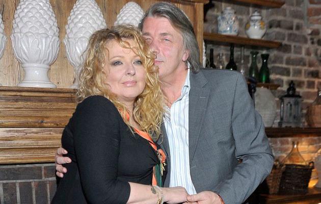 Magda Gessler z partnerem, fot. Grąbczewski  /AKPA
