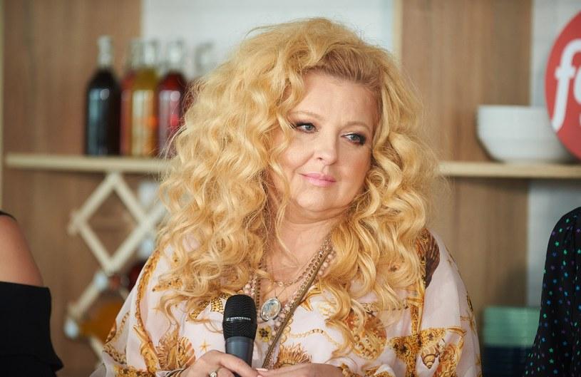 Magda Gessler zaprezentowała się w plażowym wydaniu /Bartosz Krupa /East News