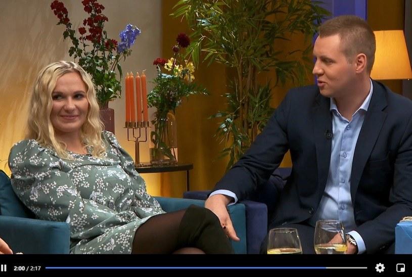 """Magda i Kuba w """"Rolnik szuka żony"""", fot. screen z programu /"""