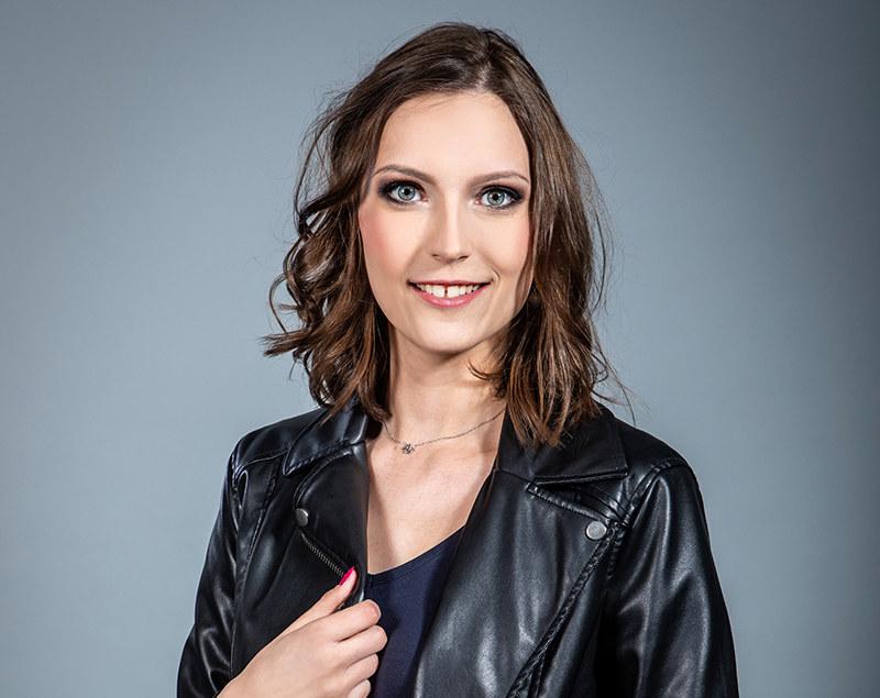 """Magda Kubicka: """"Utarło się, że kobieta to ta nieśmieszna"""" /materiały prasowe"""