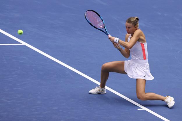 Magda Linette awansowała do drugiej rundy turnieju /Lebeda Pavel /PAP/EPA