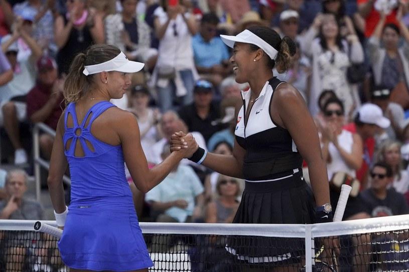 Magda Linette nie dała rady Naomi Osace w US Open /AFP