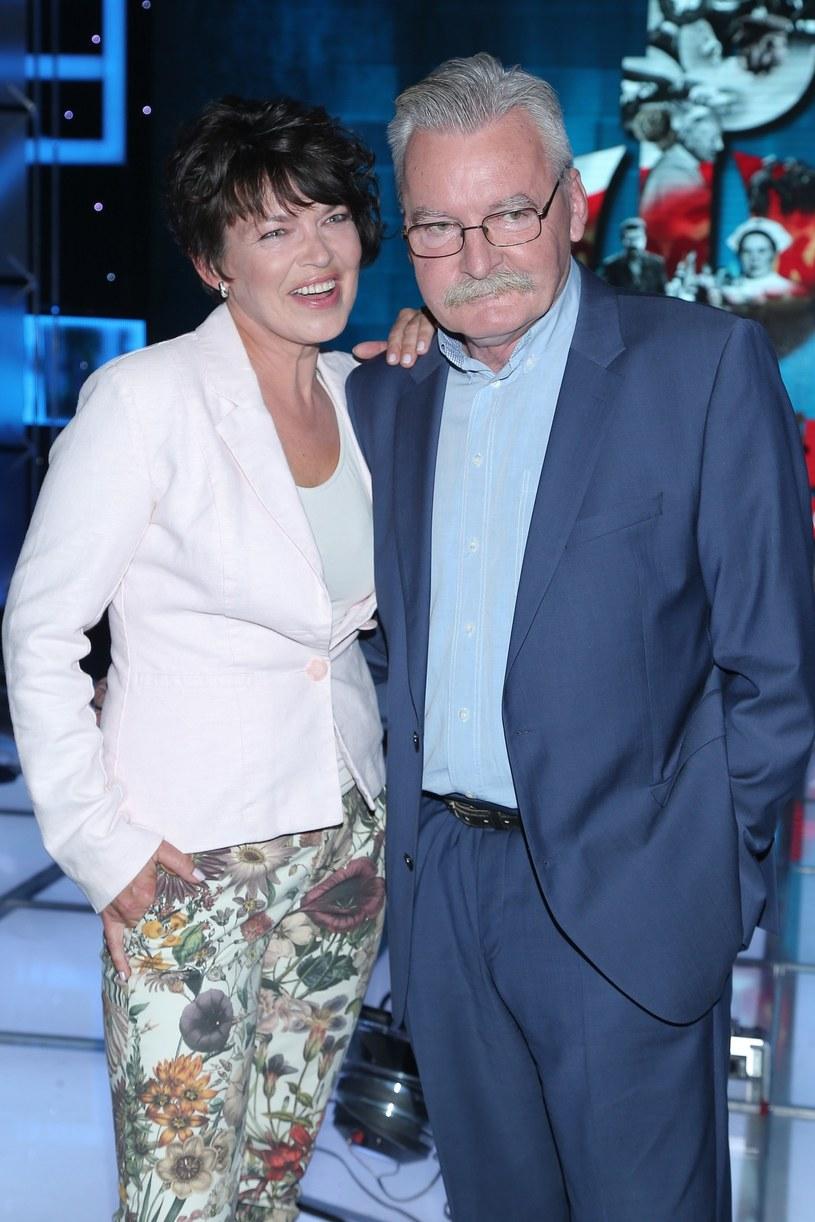 Magda Masny i Wojciech Pijanowski w 2015 roku /VIPHOTO /East News