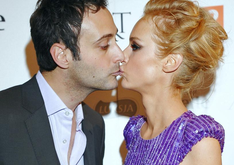 Magda Mielcarz z mężem /Andras Szilagyi /MWMedia