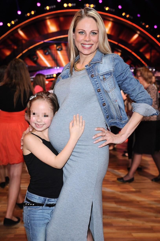 Magda Modra z córką /Szilagyi /MWMedia