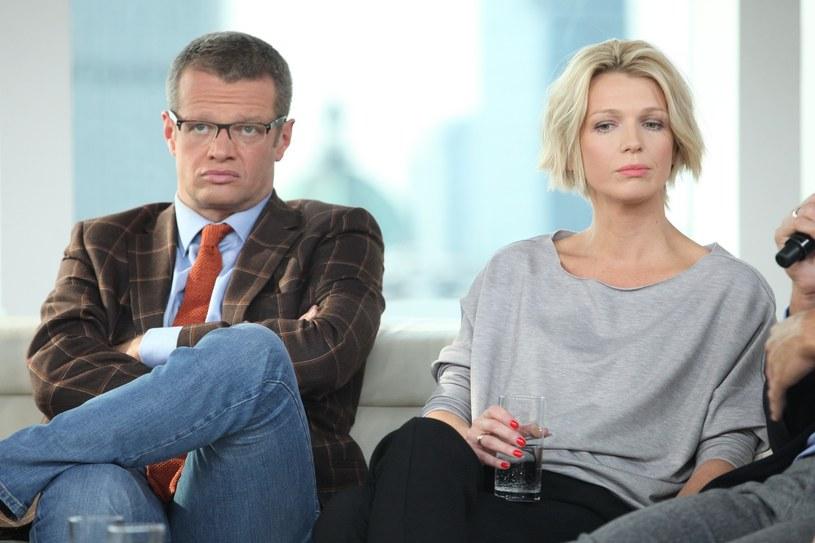 Magda Mołek i Marcin Meller, 2014 rok, fot. VIPHOTO/East News /East News