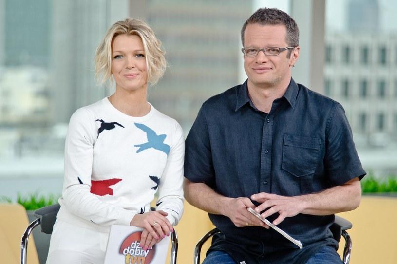 Magda Mołek i Marcin Meller, rok 2013, fot. East News /East News
