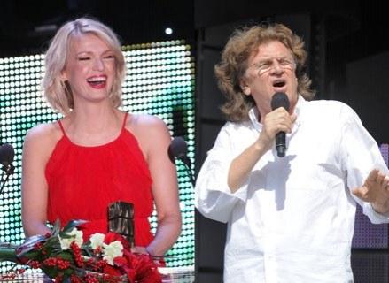 Magda Mołek poprowadzi ze Zbigniewem Wodeckim Sopot Festival /MWMedia