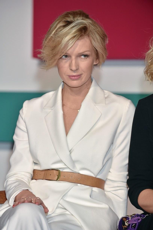 Magda Mołek przez wielu uważana jest za jedną z najbardziej stylowych Polek /Kurnikowski /AKPA