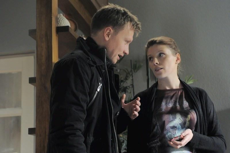 Magda nie zdąży powiedzieć Igorowi, że wybrała właśnie jego... /Agencja W. Impact