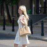 Magda Ogórek spaceruje po ulicach Warszawy! Co teraz robi?