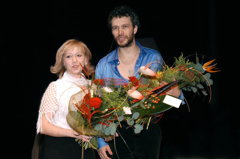 Magda Piekorz i Michał Żebrowski /Prończyk /AKPA