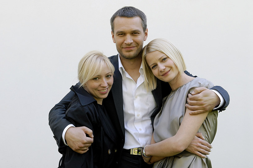 Magda Piekorz z Michałem Żebrowskim i Małgorzatą Kożuchowską /- /AKPA